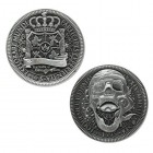 Limited Silver Edition - Talk Like a Pirate Day Geocoin