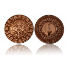 Suncompass Geocoin Antique Copper