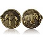Mammut Geocoin Antique Gold