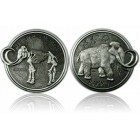 Mammut Geocoin Antique Silver