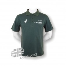 Polo GEOCACHer T-SHIRT - bottle GREEN