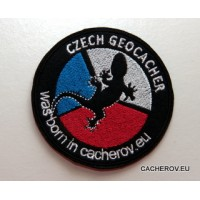 Nášivka CZECH GEOCACHER
