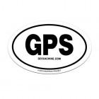 GPS nálepka