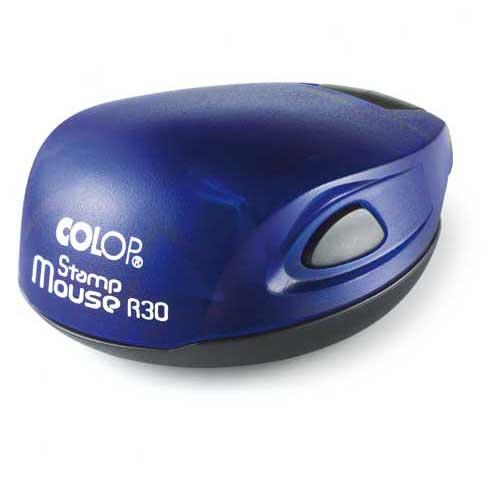 Stamp Mouse R30 - Indigo
